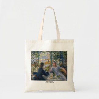 The Rower's Lunch by Pierre-Auguste Renoir Tote Bag