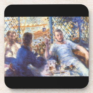 The Rowers Lunch by Pierre Renoir Drink Coaster