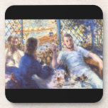 The Rowers Lunch by Pierre Renoir Drink Coasters