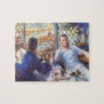 The Rowers Lunch by Pierre Renoir Jigsaw Puzzle