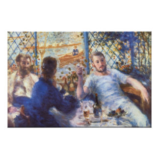 The Rowers Lunch by Pierre Renoir Print
