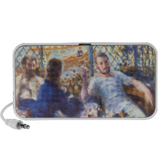The Rowers Lunch by Pierre Renoir Portable Speaker