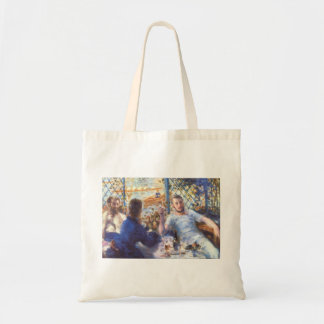 The Rowers Lunch by Pierre Renoir Tote Bag