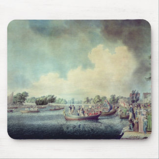 The Rowing Match at Richmond Mouse Pad