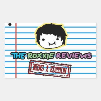 The Roxxie Reviews Sticker