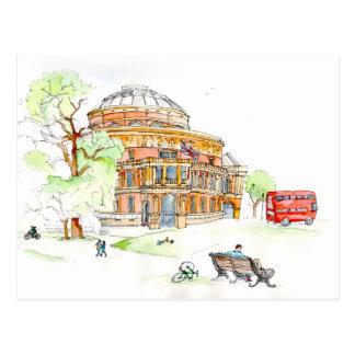 The Royal Albert Hall, London Postcard