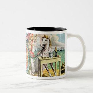 The Royal Arms Jubilant Two-Tone Coffee Mug