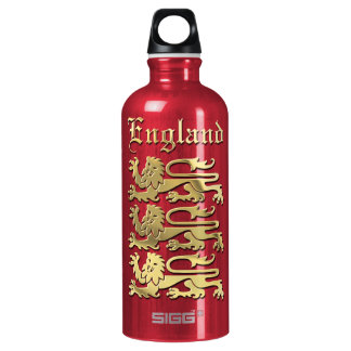 The Royal Arms Of England Aluminum Water Bottle