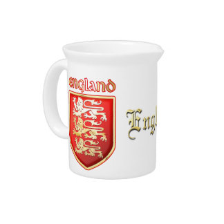 The Royal Arms of England Beverage Pitcher
