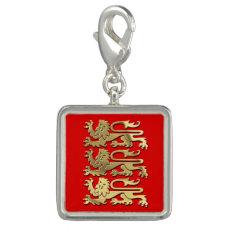 The Royal Arms of England Charm