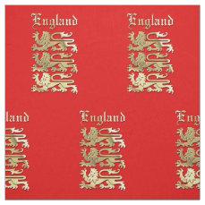 The Royal Arms Of England Fabric