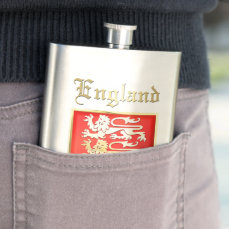 The Royal Arms of England Flask