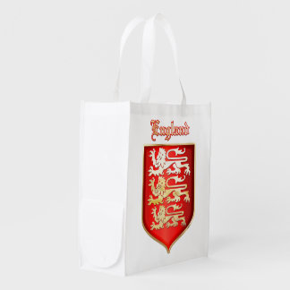 the Royal Arms of England Grocery Bag