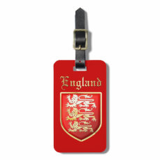 The Royal Arms of England Luggage Tag