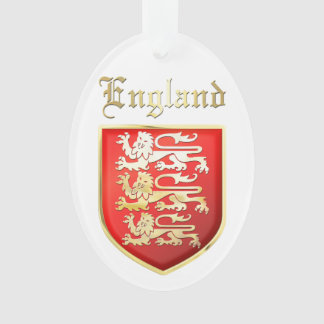 The Royal Arms of England Ornament