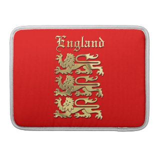 The Royal Arms of England Sleeve For MacBooks