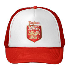 The Royal Arms of England Trucker Hat