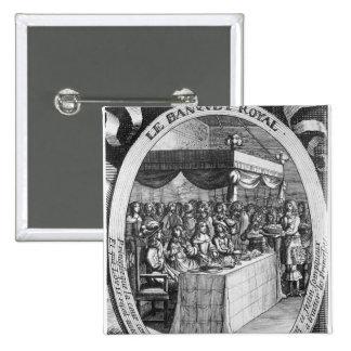 The Royal Banquet Pinback Button