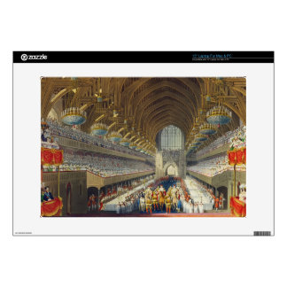 "The Royal Banquet, First Course, from an album cel 15"" Laptop Skin"