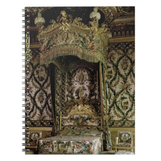 The Royal Bed, probably 18th century (photo) Notebook