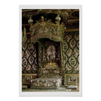 The Royal Bed, probably 18th century (photo) Poster