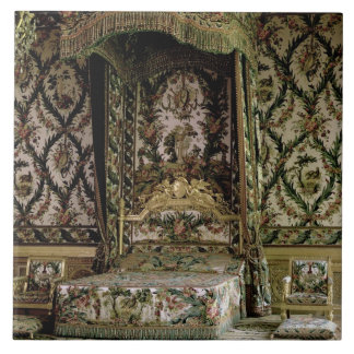 The Royal Bed, probably 18th century (photo) Large Square Tile