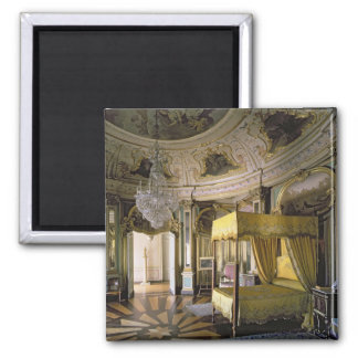The Royal Bedroom in the Hall of Don Quixote Magnet