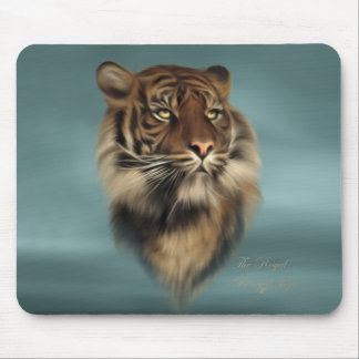 The Royal Bengal Tiger - Wildlife, Animals Mouse Pad