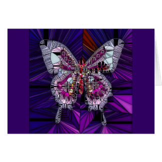 The Royal Butterfly Effect - Sapphire & Amethyst Card