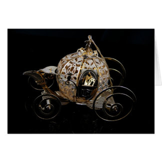 The Royal Carriage... Greeting Card