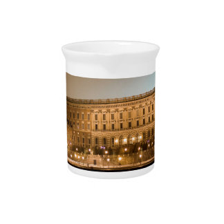 The Royal Castle, Stockholm Sweden Beverage Pitcher