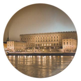 The Royal Castle, Stockholm Sweden Dinner Plate