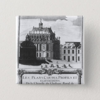 The Royal Chapel, illustration from 'Les Plans Button