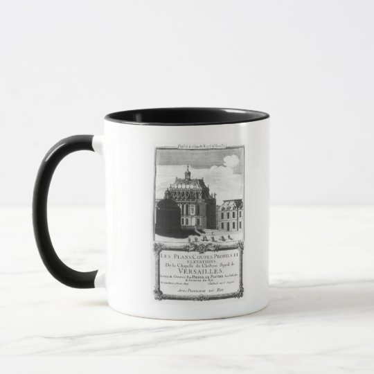 The Royal Chapel, illustration from 'Les Plans Mug