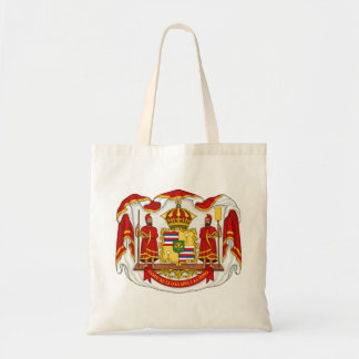 The Royal Coat of Arms of the Kingdom of Hawaii Tote Bags