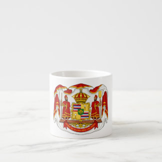 The Royal Coat of Arms of the Kingdom of Hawaii Espresso Cup