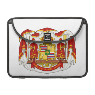 The Royal Coat of Arms of the Kingdom of Hawaii Sleeve For MacBook Pro