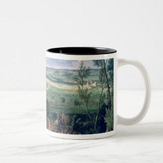 The Royal Cortege Two-Tone Coffee Mug