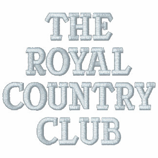 The Royal Country Club Embroidered Hoody