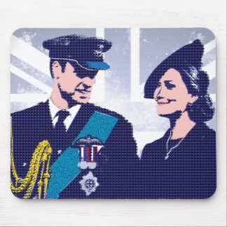 The Royal Couple Prince William and Kate Mouse Pad