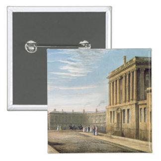 The Royal Crescent, Bath 1820 Button