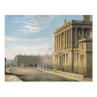 The Royal Crescent, Bath 1820 Postcard