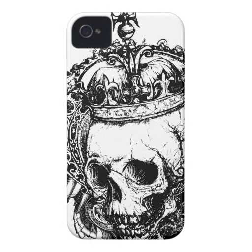 The Royal Dead Goth Metal iPhone 4 Case