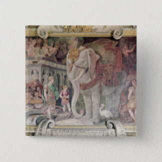 The Royal Elephant Pinback Button
