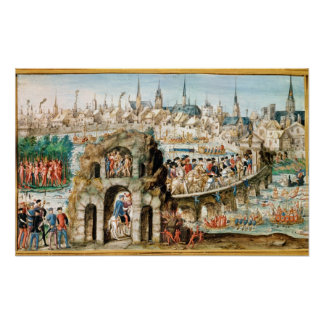 The Royal Entry Festival of Henri II  into Poster