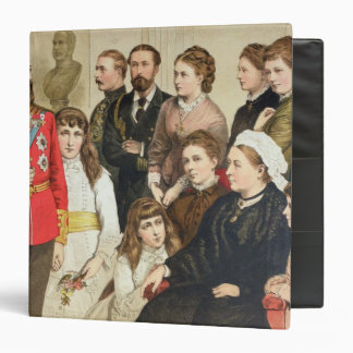 The Royal Family, 1880 3 Ring Binder