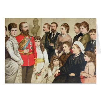 The Royal Family 1880 Greeting Card