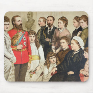 The Royal Family, 1880 Mouse Pad