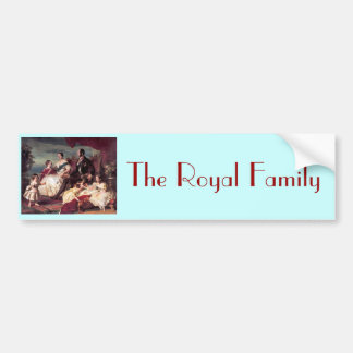 The Royal Family Bumper Sticker