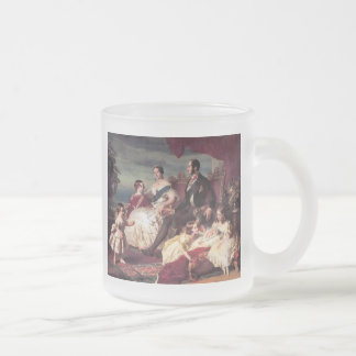 The Royal Family Frosted Glass Coffee Mug